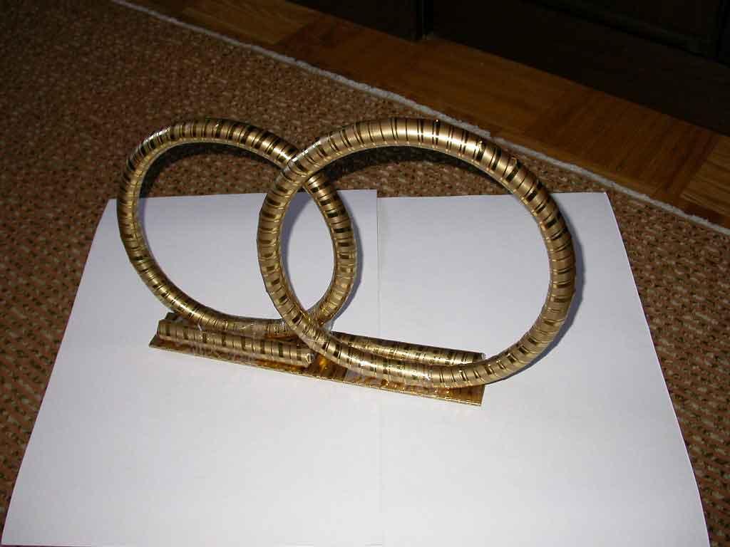 Свадебное кольцо своими руками